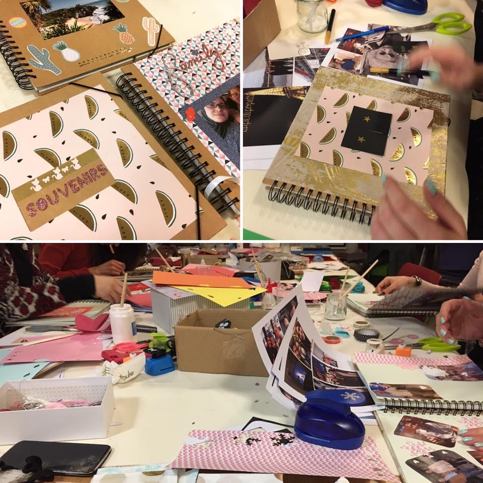 Atelier DIY scrapbooking