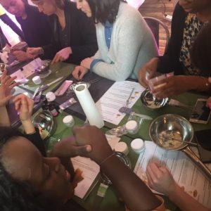 atelier creatif team building creme soin bio
