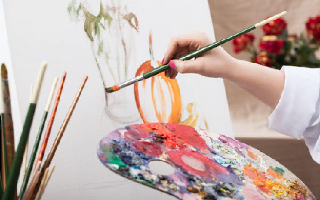 Atelier enfant peinture