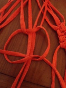 macramé noeud plat 2