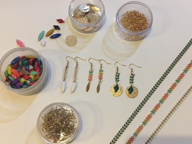 atelier creatif bijoux fantaisies DIY