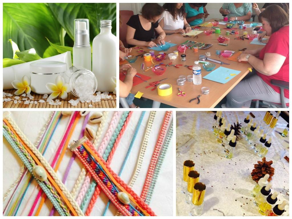ateliers créatifs DIY centre commercial