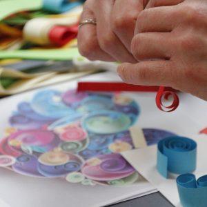 atelier diy creatif EVJF quilling
