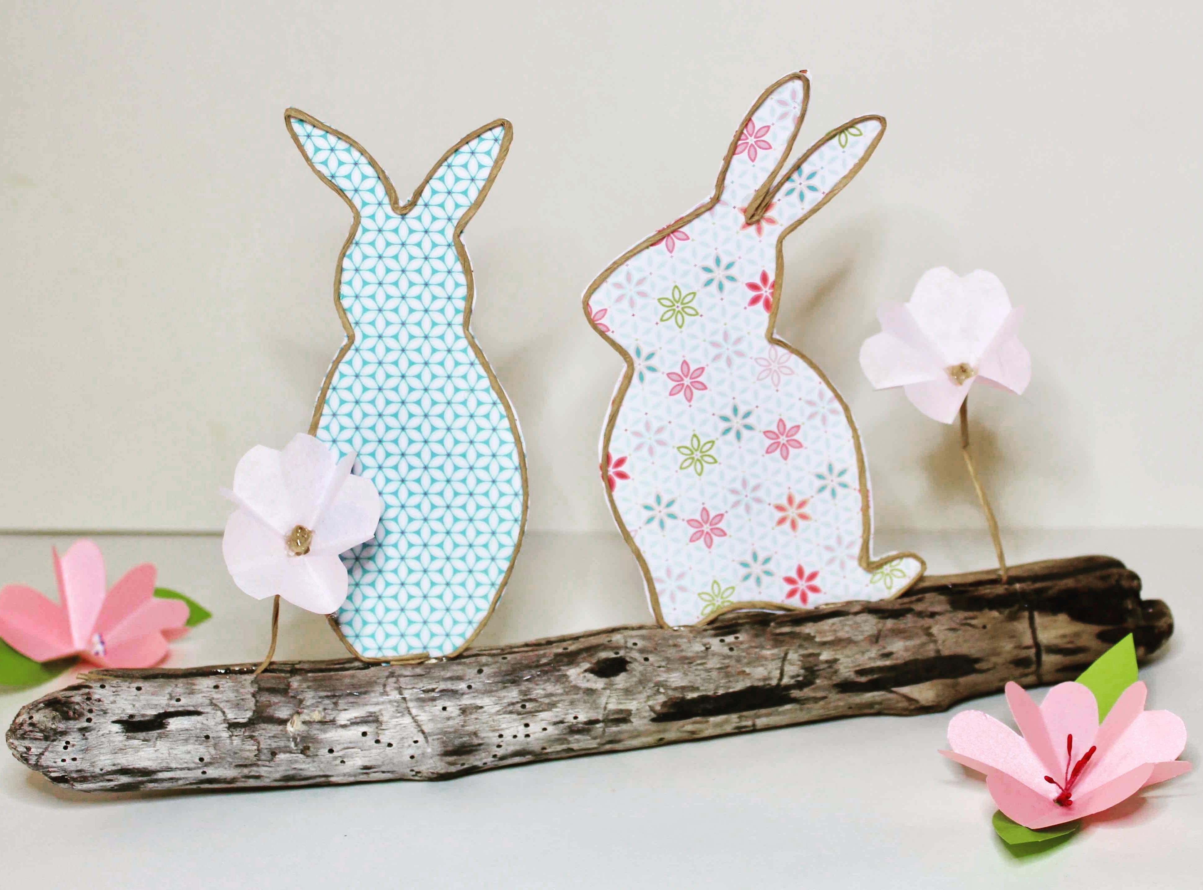 atelier enfant de pâques lapin