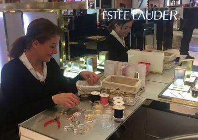 Atelier creatif Bijoux Printemps Estée Lauder