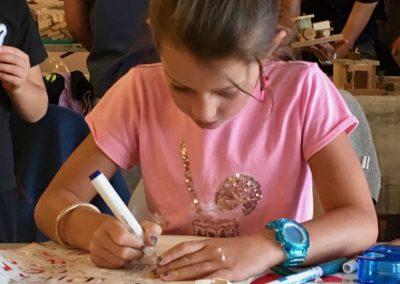 Atelier créatif DIY personnalisation de Paniers Pop Up Store Truffaut
