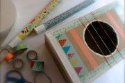 atelier créatif instrument de musique DIY