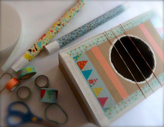 Atelier enfant créatif d'instruments de musique