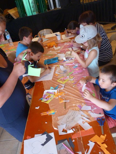 Atelier enfant Stickers