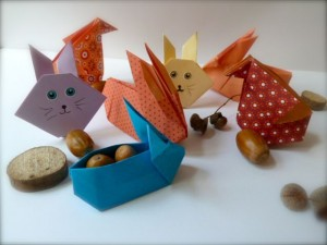 origamis de paques