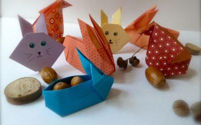 Ateliers origami et composition de Pâques