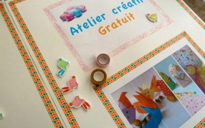 Ateliers de Pâques : oeufs colorés et origamis