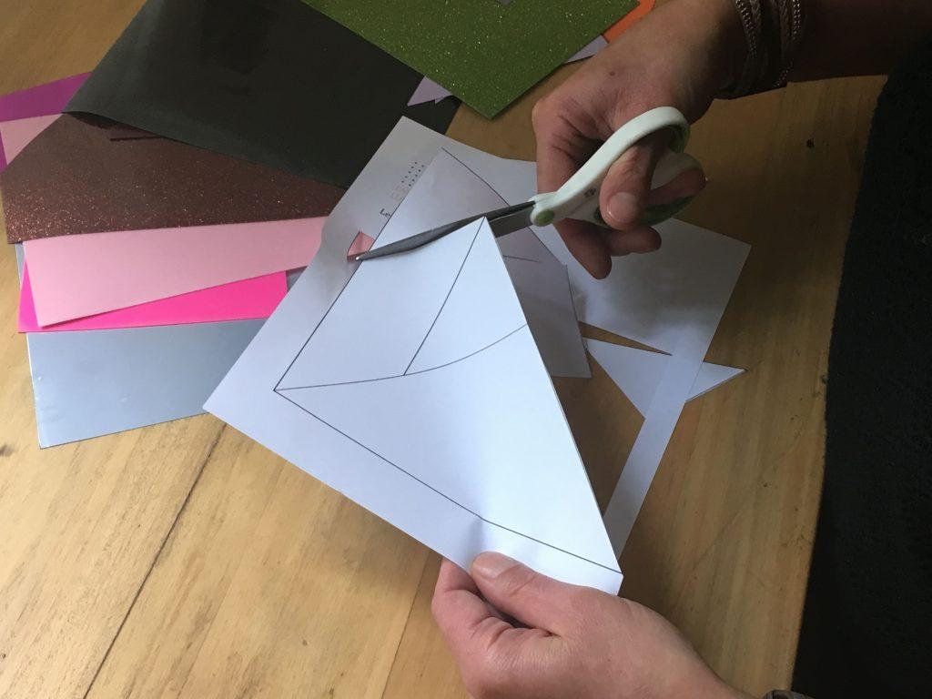carré aux 7 formes tangram