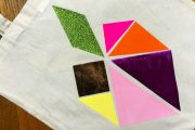 Tutoriel diy Tote Bag Tangram DIY