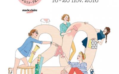 Salon Création et Savoir Faire 2016 – 20 ans