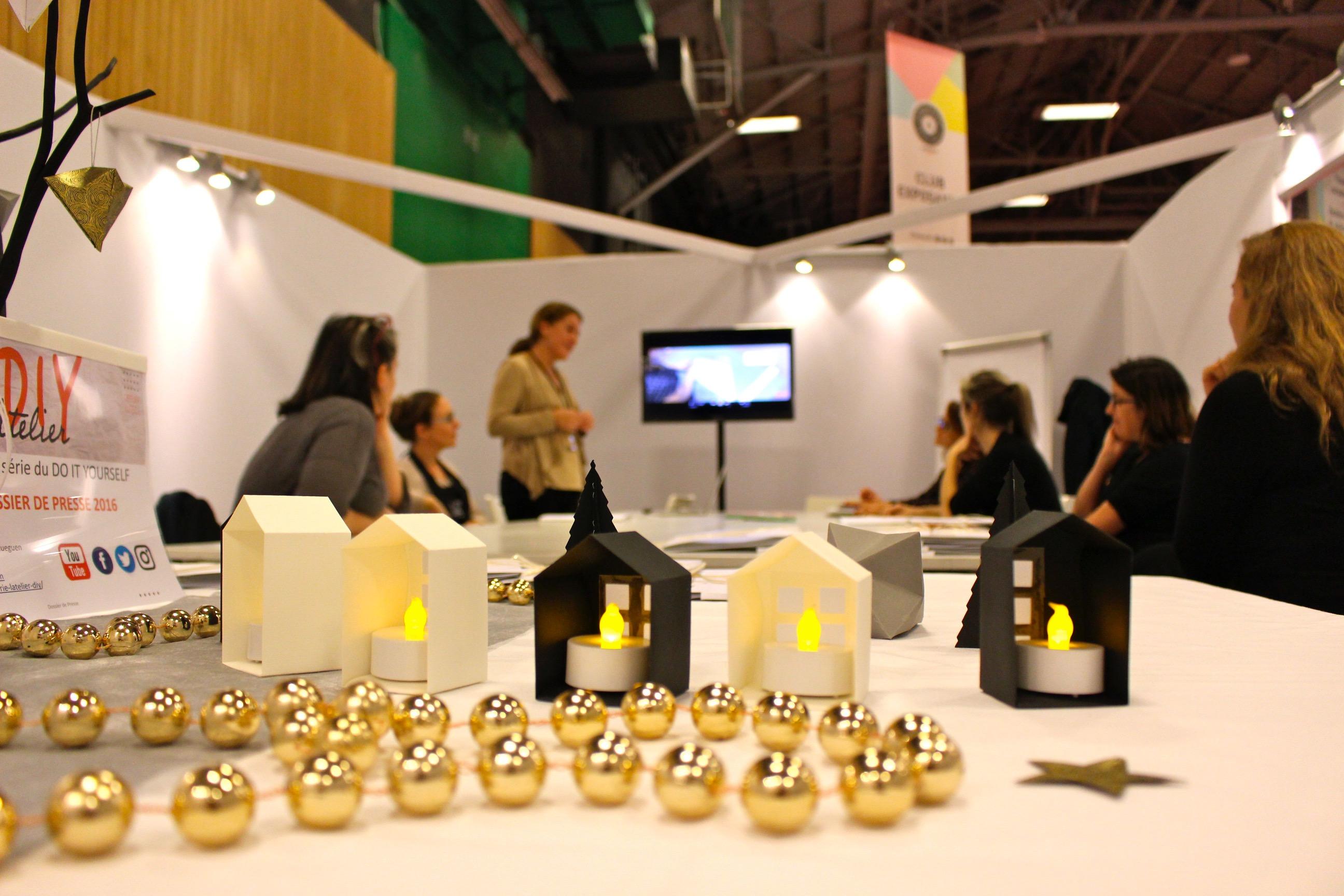 presentation dossier presse Web serie DIY salon creation et savoir faire