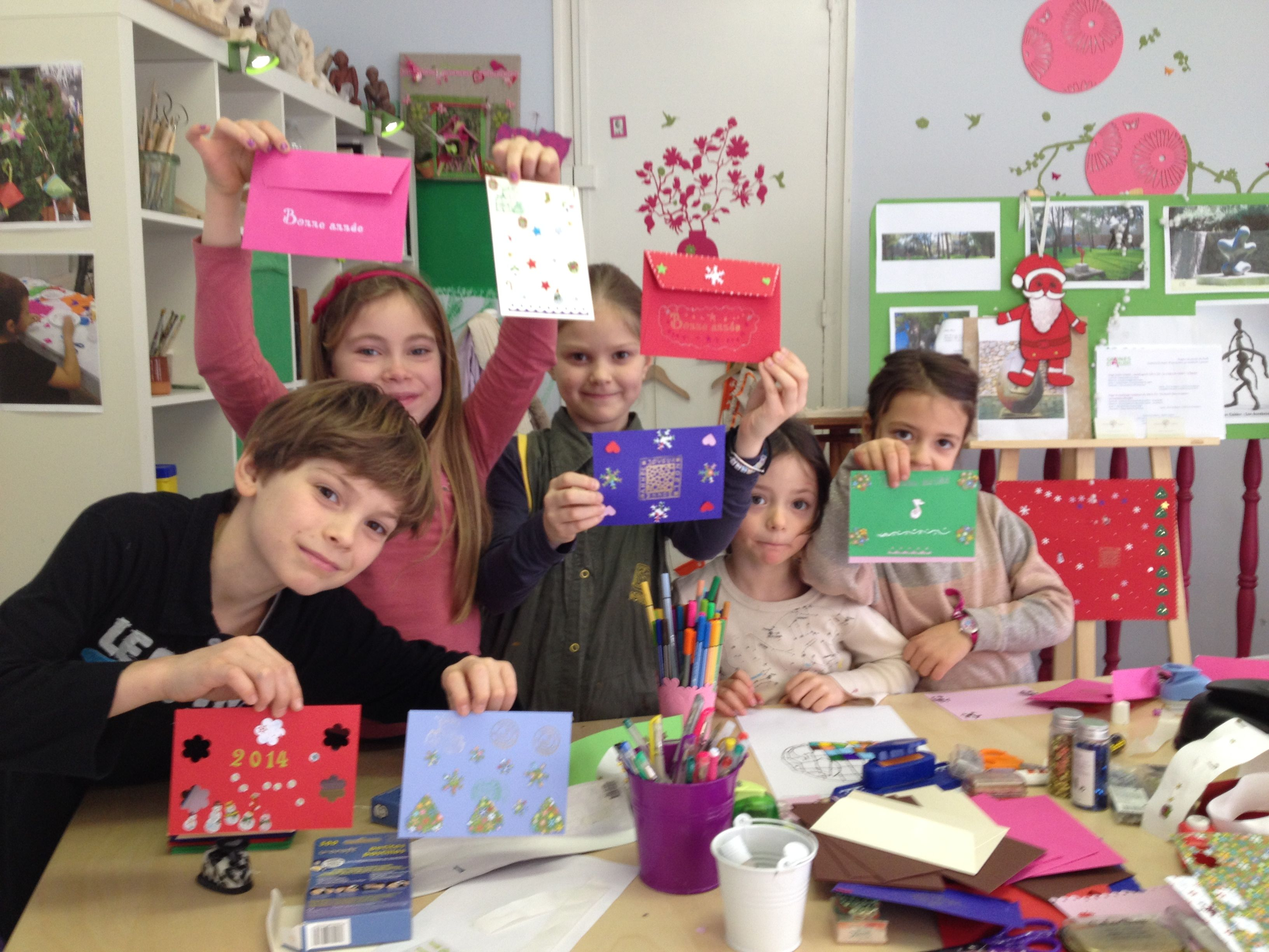atelier DIY cartes de voeux