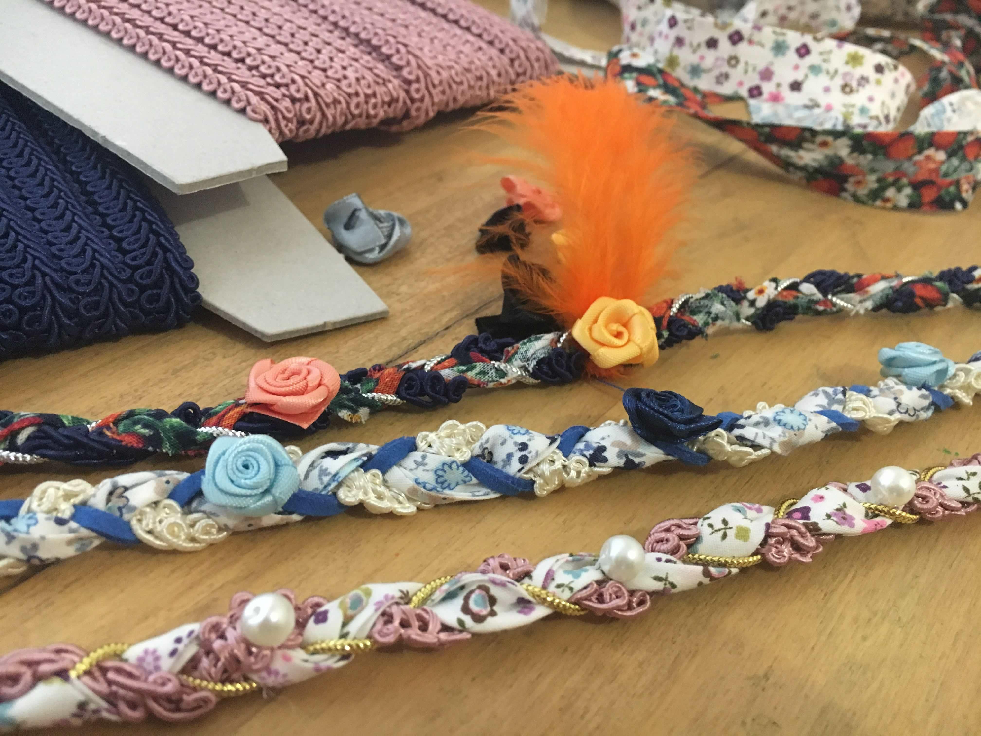 atelier diy creatif head banc tissu