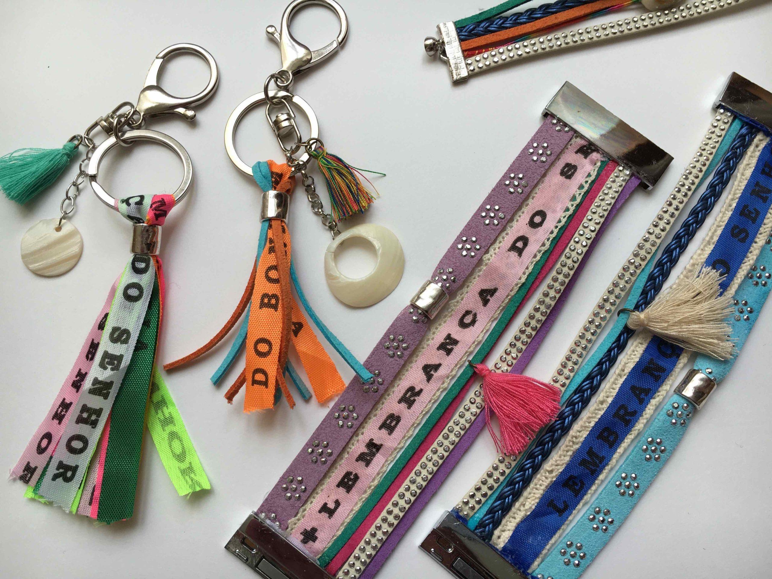 atelier creatif DIY creation manchettes accessoires bresil