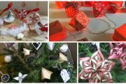 atelier diy decoration de noel ski montagne