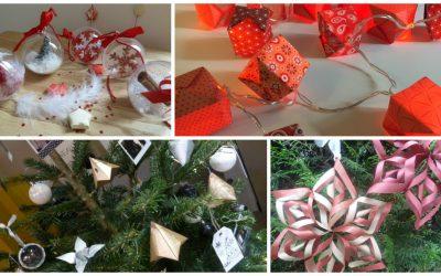 Ateliers DIY décorations de Noël à L'ATC
