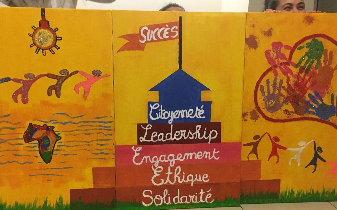 atelier fresque oeuvre collective en entreprise teambuilding