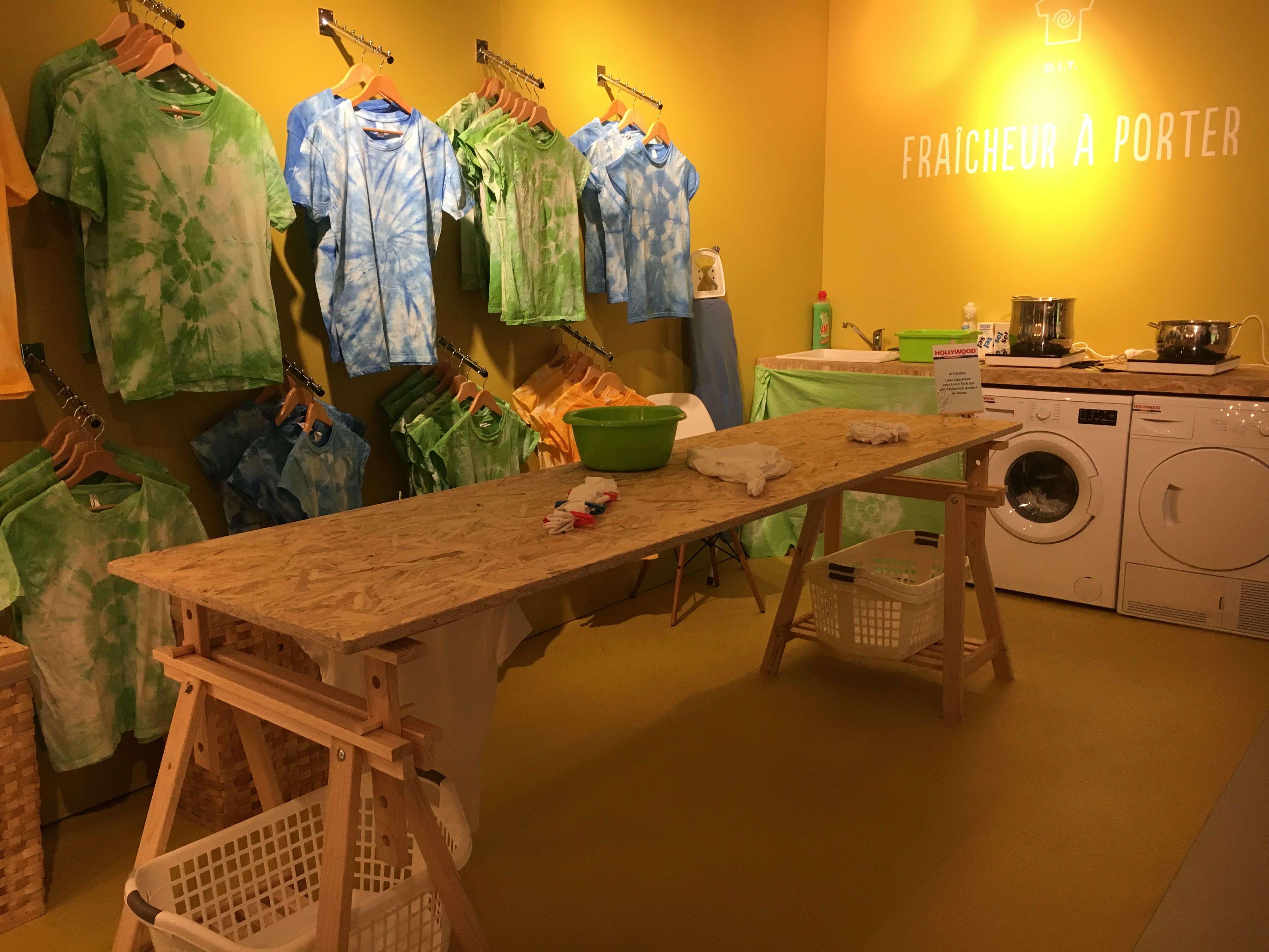 atelier diy tie and dye shibori hollywood swing gum boutique ephemere