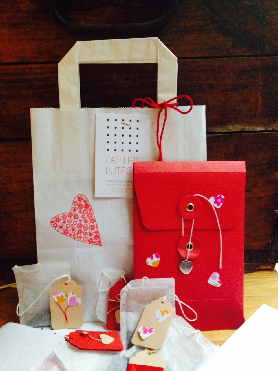 Kit sur mesure saint valentin