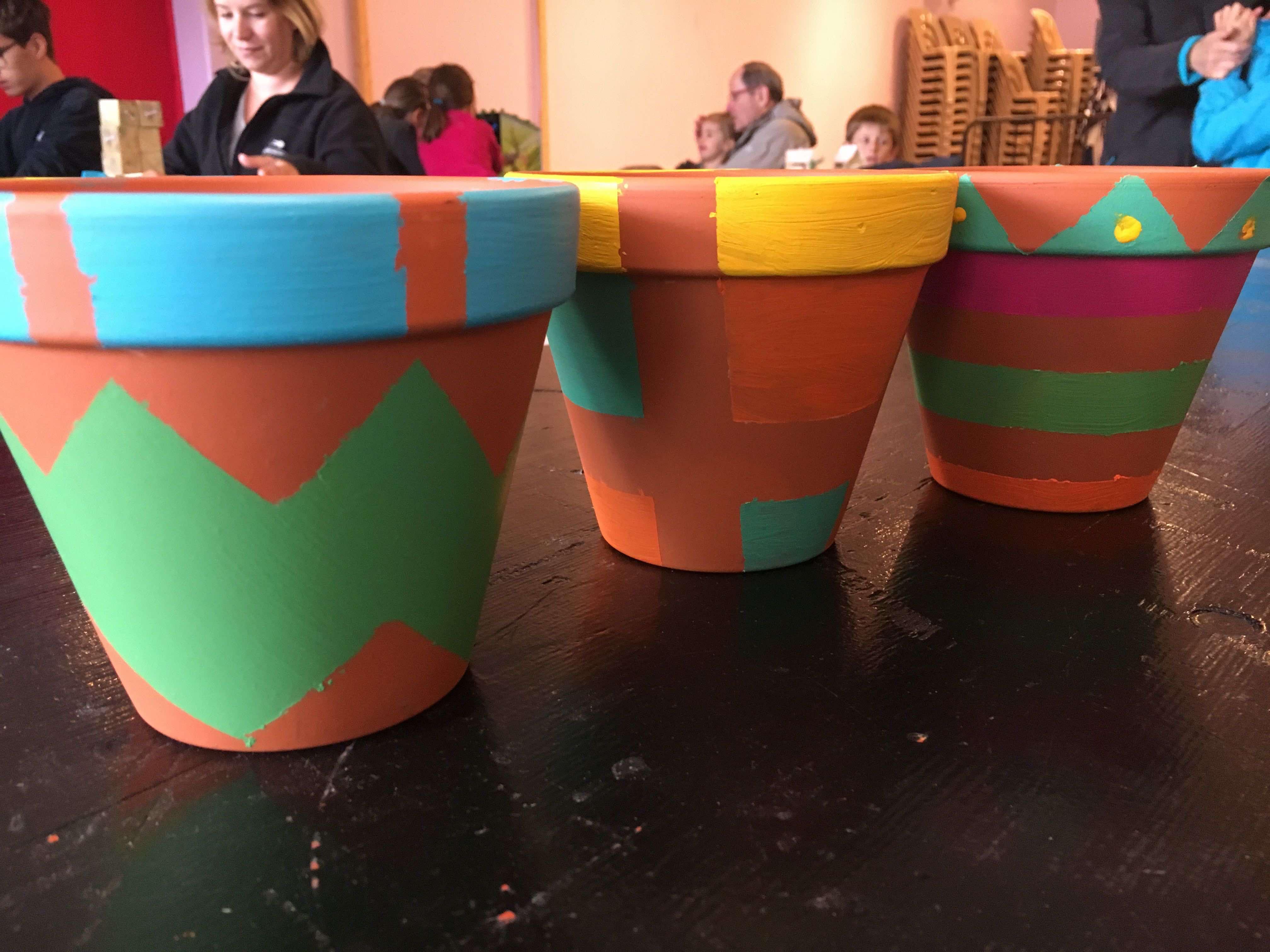 atelier diy creatifs pots fleurs graphiques