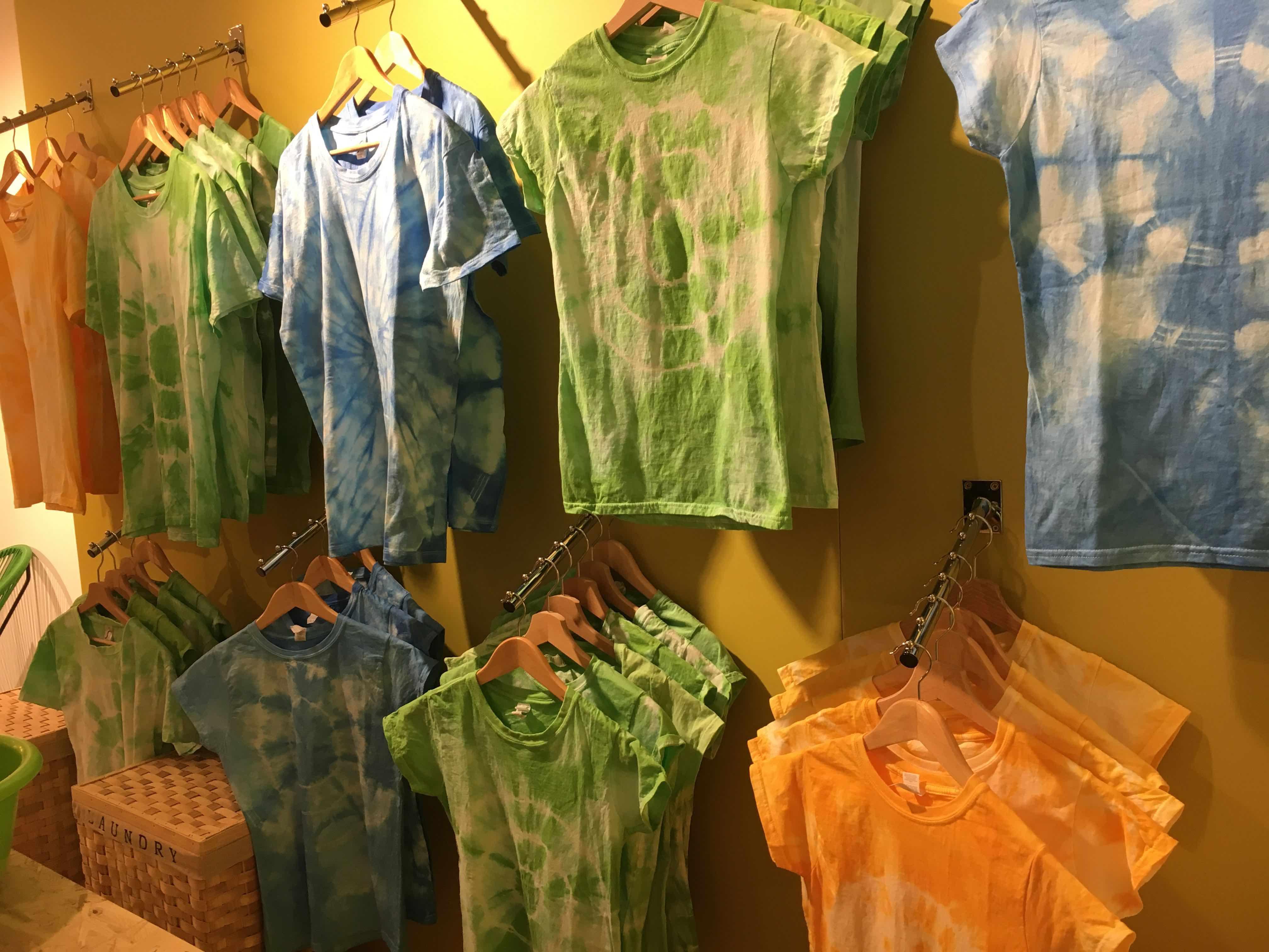 t shirt tie and dye sur mesure