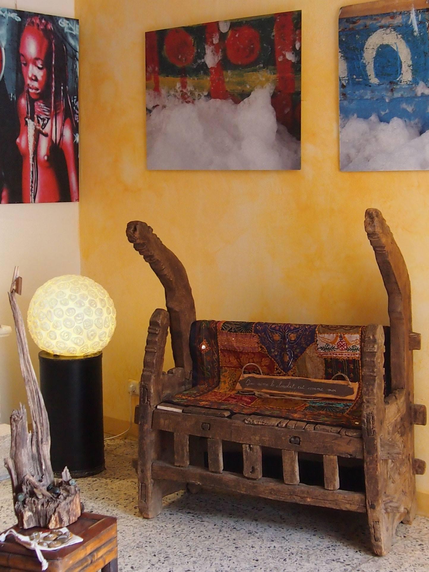 exposition Sylvie Grand chez l'oiseau rare L'Isle-sur-la-Sorgue