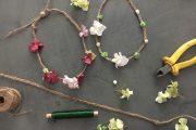 head band floral hippie coachella atelier diy creatif