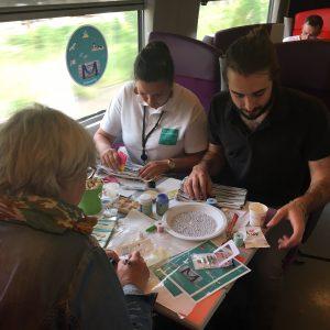 atelier DIY creatif TGV Paris Nantes Bordeaux Rennes Bensimon customisation