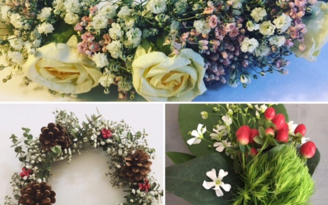 atelier DIY creatif couronne de fleurs Salon Creations & savoir-faire
