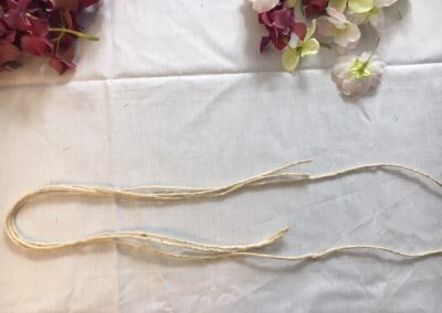 tutoriel HeadBand floral Cordelette