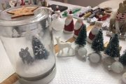 atelier DIY jarre de noël mason christmas Jar