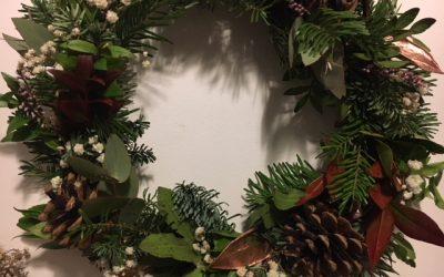 Tutoriel DIY Couronne de Noël