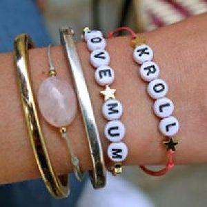 Atelier DIY bracelet noeud coulissant