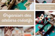 organiser des ateliers créatifs eyrolles