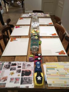 atelier DIY vision board tableau de visualisation teambuilding