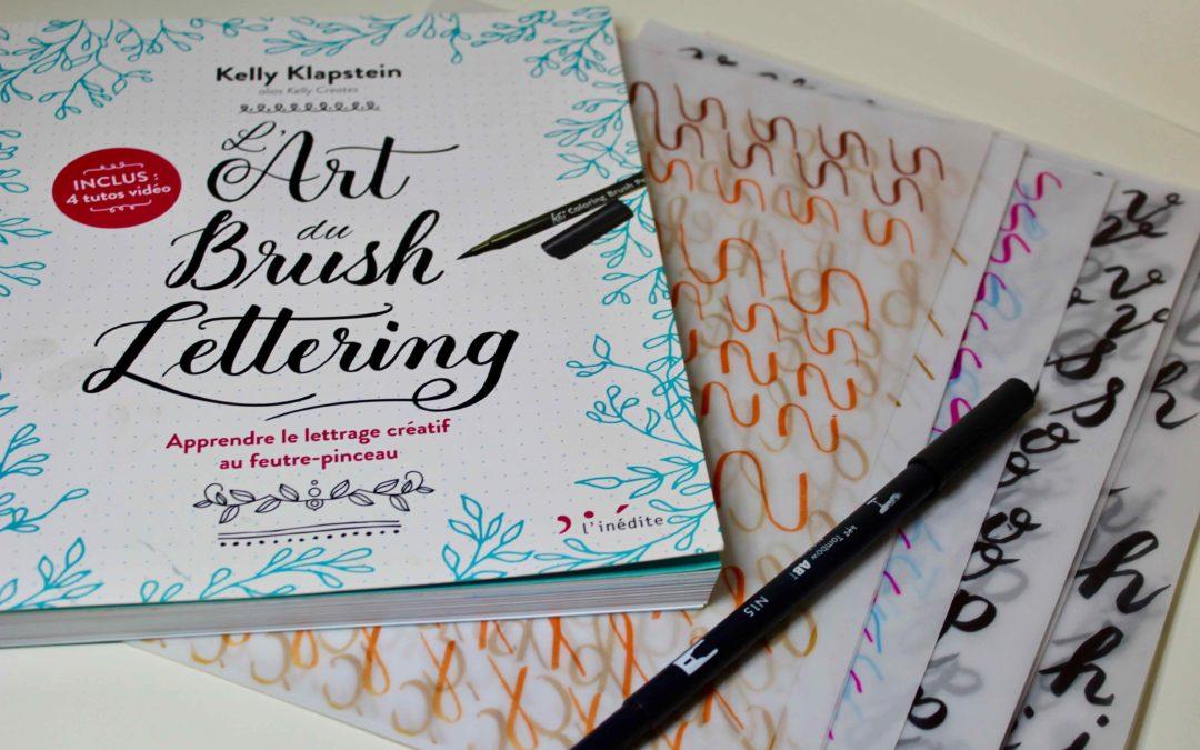 debuter brush lettering lettrage creatif