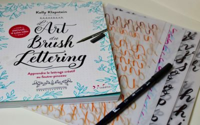 L'art du Brush Lettering Livre