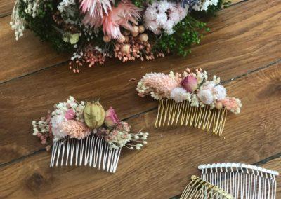 tutoriel DIYpeignes de fleurs sechees atelier DIY LYON