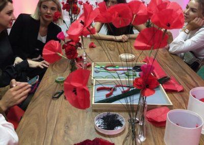 Workshop paper craft Poppy