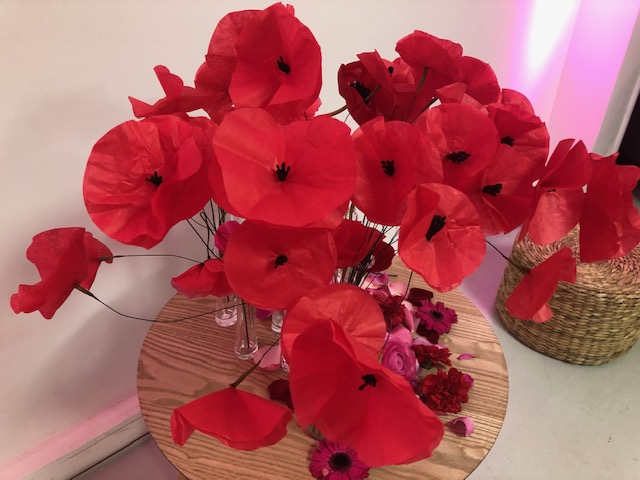 Poppy Bouquet paper craft DIY Kenzo