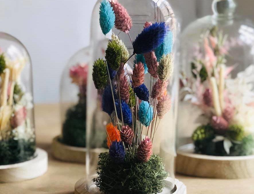 Atelier DIY Cloche de fleurs séchées