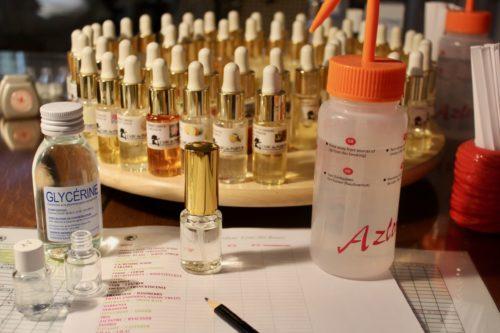 solution spay gel atelier hydro alcoolique sur mesure parfumée