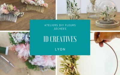 Ateliers créatifs DIY Fleurs Séchées – ID Créatives Lyon