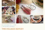 Atelier créatif DIY été Lyon Chapeaux bijoux fleurs séchées accessoires