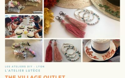 Ateliers DIY Summer Dream au Village Outlet Villefontaine – Lyon